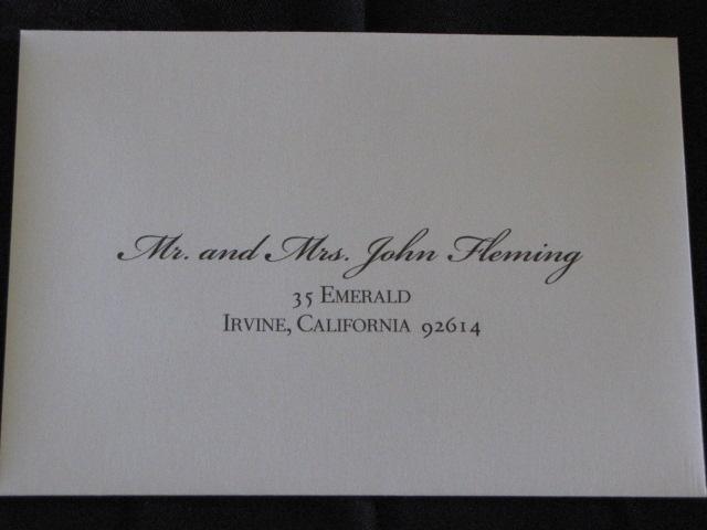 wedding invitation envelope etiquette invitations - Wedding Invitation Envelope Etiquette
