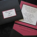 Cassondra and Jason invitation