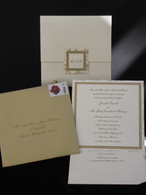 Johnson Wedding Invitation