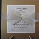 Ramos wedding invitation