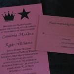 Medina and Wilson invitation