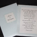 Reed polka dot paper invitation