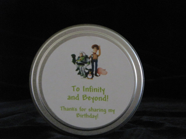 disney round favor tin