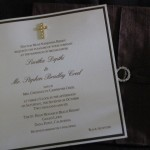 invitation inside dupioni silk some with cross