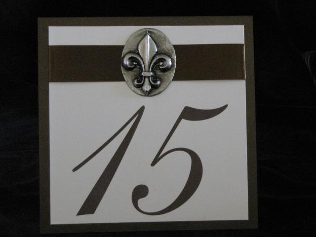 Table Numbers Names 187 Calligraffitiinvitations Com